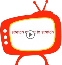 Most people over-stretch, so our upcoming set of videos aim to teach you 'the right stuff so you get the results you want'