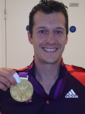 Tim & Gold medal